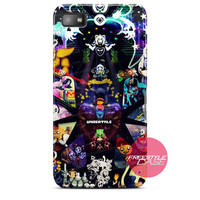 Undertale Pattern Blackberry Case Z10, Q10, Dakota Cover
