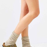 Ribbed Slouchy Crew Sock-