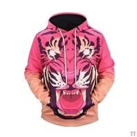 Givenchy Woman Men Fashion 3D Print Top Sweater Pullover Hoodie-10