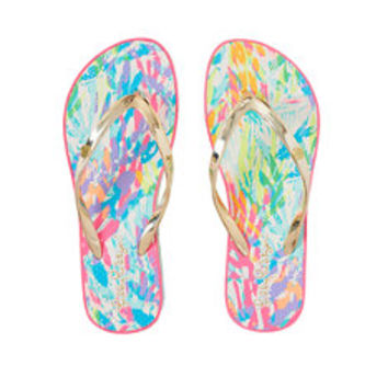 Pool Flip-Flop | 25412 | Lilly Pulitzer