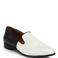Marc by Marc Jacobs - Clean Sexy Leather Slip-On Loafers - Saks Fifth Avenue Mobile