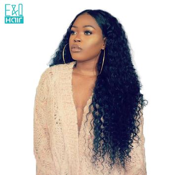 Brazilian Water Wave Lace Front Human Hair Wig (8 - 24 Inches)