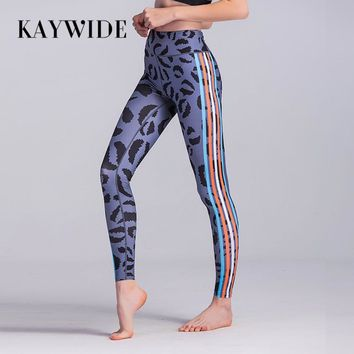 Women's High Waist Lip Print Leggings
