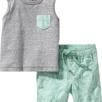 Old Navy Tank & Shorts Sets For Baby