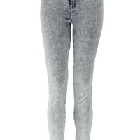 Lenora Acid Wash High Rise Disco Jeans