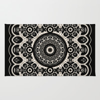 Lace Mandala Rug by Lyle Hatch