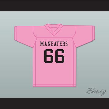 Player 66 Maneaters Intramural Flag Football Jersey Balls Out