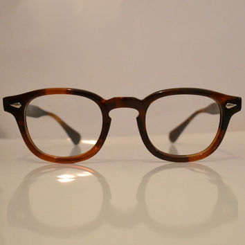 Johnny Depp Vintage Horn Rim Eyeglasses  by TheSpecsCollector