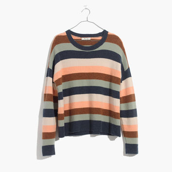 Pullover Sweater in Elmwood Stripe