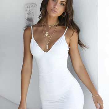 Buy Our Ally Dress in White Online Today! - Tiger Mist
