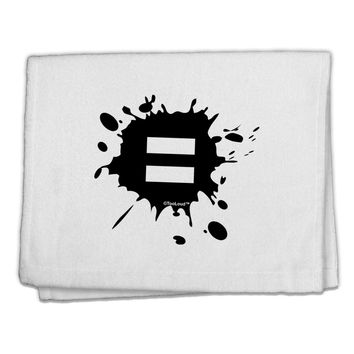 "Equal Paint Splatter 11""x18"" Dish Fingertip Towel by TooLoud"