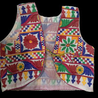 Short vest-Jacket - Indian Bollywood style jacket- Thread work jacket- Embroidered Jackets-Ethnic Wear vest