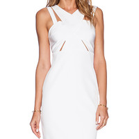 Style Stalker Parallel Dress in White