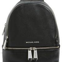 MICHAEL Michael Kors 'Extra Small Rhea' Leather Backpack | Nordstrom