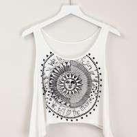 SUN & MOON CROP TOP