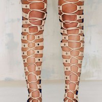 Jeffrey CampbellOlympus Leather Gladiator Sandal