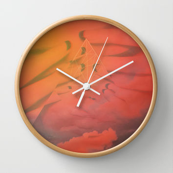 Head in the Clouds Wall Clock by DuckyB (Brandi)