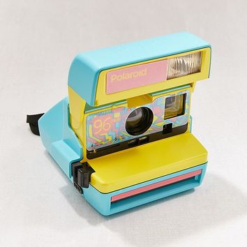 Polaroid Originals Refurbished 600 96 Cam Fresh Blue Instant Camera | Urban Outfitters