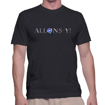 Allons-Y Graphic Tee (mj-os-G2000-allonsy-mltclr)