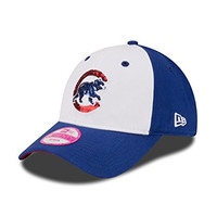 MLB Chicago Cubs Women's Team Glimmer 9TWENTY Adjustable Cap, One Size, Royal