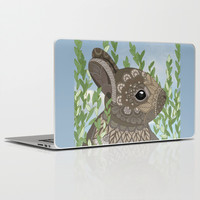 Baby Bunny Laptop & iPad Skin by ArtLovePassion