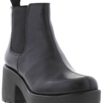 Vagabond DIOON CHELSEA Womens Leather Pull On Heeled Boot Sizes UK 4 - 8