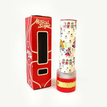 Otagiri Musical Kaleidoscope, Plays Mary Had A Little Lamb, Vintage Nursery Rhyme Collectible Child's Toy In Box