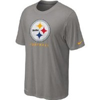 Pittsburgh Steelers Nike Legend Elite Dri-FIT Grey Logo T-Shirt - Official Online Store