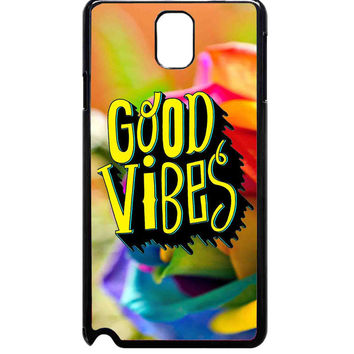 Colorful Good Vibes For Samsung Galaxy Note 3 Case ***