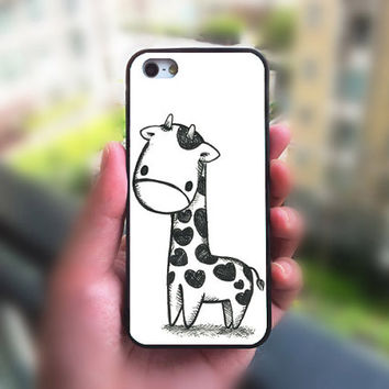 cute iphone 4 case,Giraffe,iphone 4S case,ipod 4 case,ipod 5 case,iphone 5 case,iphone 5S case,iphone 5C case,iphone cover,iphone case