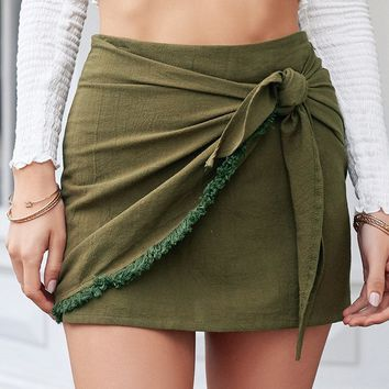 Big Little Lies Skirt (Khaki)