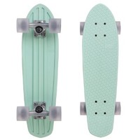 "Globe Bantam Retro Authentic Vinyl Plastic Cruiser Skateboard Complete Penny Size 24"" Mint/Raw/Clear Grey"