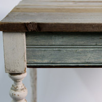 New Orleans Reclaimed Wood Table Eco Friendly Furniture by RestorationHarbor on Etsy