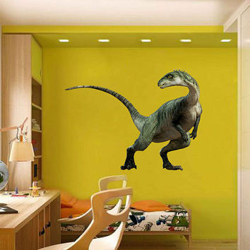dinosaur wall Decals dinosaur wall decor dinosaur Full Color wall Decals for nursery for Boy's Room for kids room decor cik2250