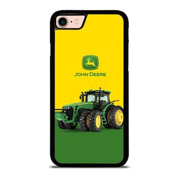 JOHN DEERE WITH TRACTOR iPhone 8 Case Cover