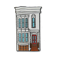 Full House Enamel Pin - Hard Enamel - Flair - Fuller House - San Francisco California - Painted Ladies