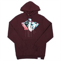 Diamond Supply Co. - I Art You Hoody Burgundy | MTVTN.com