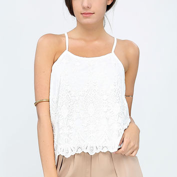 Lace Layerd Cami Top