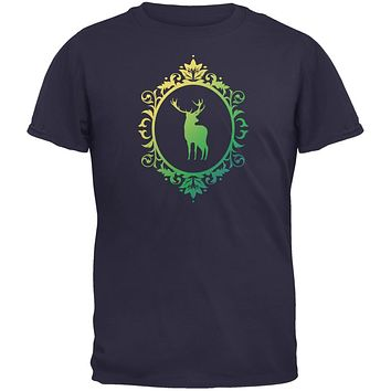 Deer Silhouette Navy Youth T-Shirt