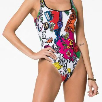 Versace One-Piece Swimsuit