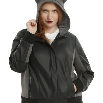 DC Comics DC TV Gotham Selina Kyle Girls Hooded Jacket Plus Size