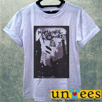 Low Price Women's Adult T-Shirt - My Chemical Romance The Black Parade Poster design