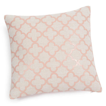 ABBY pink cushion cover 40 x 40 cm | Maisons du Monde