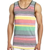 Hurley Men's Break Knits Tank, Island Green, Small