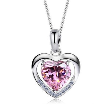 925 Sterling Silver Necklace For Your Lover