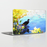 Duck Pond Laptop & iPad Skin by Moonshine Paradise