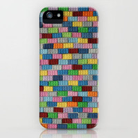 Bricks iPhone Case by Project M | Society6