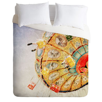 Lisa Argyropoulos Sea Swings Duvet Cover