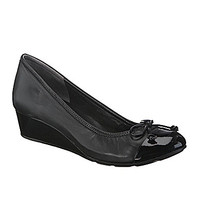 Cole Haan Air Tali Lace Wedges - Black
