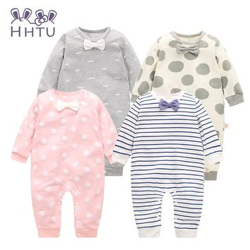 Long Sleeve Baby Girls Clothing Jumpsuits Children c50baaaa9